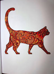 Adult Coloring Book Stress Relieving Animal Designs Artists By Jackie