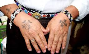 Tattooed Croatian Catholic Woman From Kraljeva Sutjeska Bosnia And Herzegovina Was As A Child