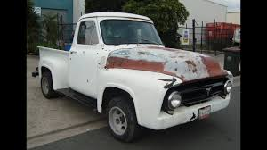 1954 Ford F100 1953 1955 1956 V8 Auto Pick Up Truck For Sale - YouTube 1956 Ford F100 Panel Hot Rod Network Classic Cars For Sale Michigan Muscle Old Ford F800 Alto Ga 977261 Cmialucktradercom Pickup Allsteel Truck Sale Hrodhotline 2door Pickup Big Back Window Original V8 Fordomatic Big Window Truck Project 53545556 Rides Pinterest Trucks And Trucks Coe Accsories 4clt01o1956fordf100piuptruckcustomfrontbumper