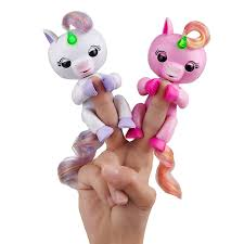 Amazon WowWee Fingerlings Light Up Glitter Unicorn
