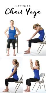 Youtube Chair Yoga Sequence by 88 Best Chair Yoga Images On Pinterest Chair Exercises Senior
