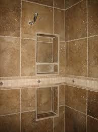 bathroom tile shelves home design