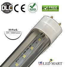 4ft 18w t8 led light g13 6500k fluorescent replace bulb bi