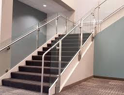 Projects - SC Railing Company Glass Stair Rail With Mount Railing Hdware Ot And In Edmton Alberta Railingbalustrade Updating Stairs Railings A Split Level Home Best 25 Stair Railing Ideas On Pinterest Stairs Hand Guard Rails Sf Peninsula The Worlds Catalog Of Ideas Staircase Photo Cavitetrail Philippines Accsories Top Notch Picture Interior Decoration Design Ideal Ltd Awnings Wilson Modern Staircase Decorating Contemporary Dark