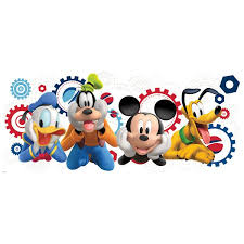 room mates mickey and friends mickey mouse clubhouse capers giant