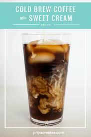 Cold Brew Coffee With Vanilla Sweet Cream