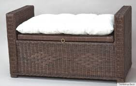 sitting rest incl cushions rattan bench stool bench chest