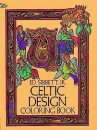 Celtic Design Colouring Book By Ed Sibbett
