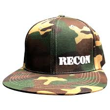 100 Camouflage Truck Accessories RECON Adjustable Hat RECON