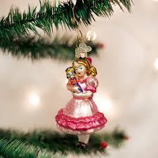 Old World Christmas Clara Glass Christmas Ornament Putti Fine