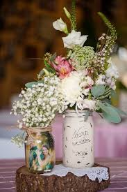 Centerpiece Rustic Country Style Wedding In A Barn With Cute Details And Elegant Decorations