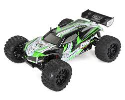 100 Losi Trucks TENMT 110 RTR 4WD Brushless Monster Truck BlackGreen