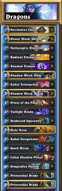 priest deck august 2017 journey to un goro deck tech priest guardian s