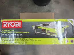 Ryobi Wet Tile Saw Ws730 by 100 Ryobi Tile Saw Ws722 100 Ryobi Tile Saw Ws722 Ryobi