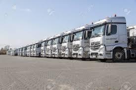 100 German Trucks BURG GERMANY JUNE 11 2017 Mercedes Benz Actros