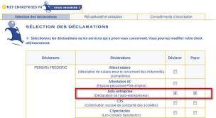 declaration auto entrepreneur chambre des metiers entreprise auto entrepreneur myae s inscrire pour déclarer