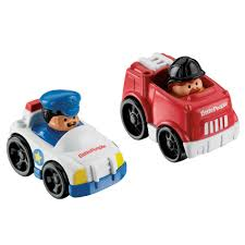 100 Fisher Price Fire Truck Ride On Wheelies Police Car
