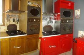 relooker une cuisine rustique en moderne transformer une cuisine rustique simple relooker une cuisine