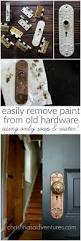 How Remove Paint From Carpet by How To Remove Paint From Old Hardware Using Only Soap And Water