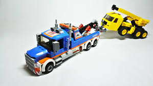 Lego City Tow Truck (Set 60056) - YouTube