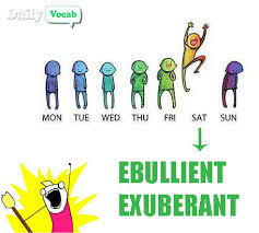 Ebullient And Exuberant Image With Meaning