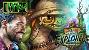 Shaman Overload Deck Loe by Lifecoach Loe Day 25 Sir Finley In Druid S21 Youtube
