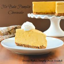 Bake Pumpkin For Pies by No Bake Pumpkin Cheesecake With Toasted Pecan Graham Cracker Crust