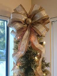Amazon Gold Christmas Bow