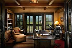 Rustic Home Office Furniture Design The Exotic