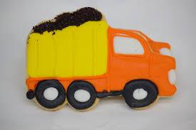 100 Dump Truck Cookies Iced Cutout From Cinottis Bakery