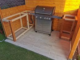 außenküche grillplatz mit grillüberdachung selber bauen