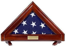 Franklin 3X5 American Flag Display Case