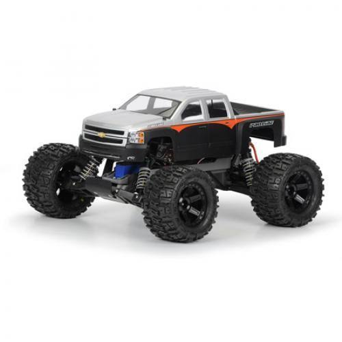 Pro-Line Chevy Silverado 2500 HD Clear Body Stampede
