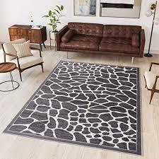 wohnraum teppiche teppich wohnzimmer grau modern s