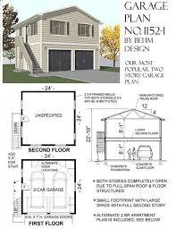 Apartment Garage Plans Sds 5 Car 381 Traintoball