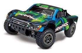 100 Green Trucks Traxxas Slash 4X4 Ultimate RTR 4WD Short Course Truck