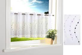 scheibengardine gardinenbox stangendurchzug 1 stück punkt scheibengardine durchzuglöcher scheibe gardine küche 112242 kaufen otto