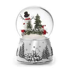 Christmas Tree Shop Waterford Ct by A Wish Child And Snowman Snow Globe