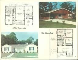 Ranch House Floor Plans Colors Home Of Color Custom Designed Plans Merit Vintage Floor Plan 1950s