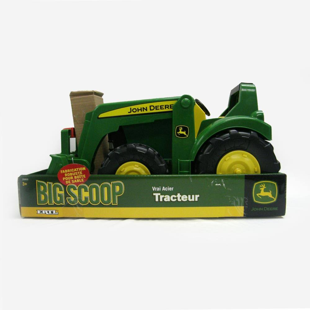 Tomy Boys' John Deere Big Scoop Tractor