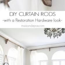 restoration hardware curtain rods modern home interior modern homie