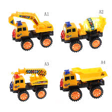100 Trucks For Toddlers 1Pcs 4 Styles Cement Mixer Car Action Children Toy Cars Engineering