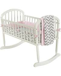 Get this Amazing Shopping Deal on Baby Doll Bedding Minky Chevron