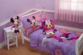 100 Toddler Truck Bedding 4 Piece Minnie Mouse Disney Set Girls Comforter Sheets Bed Cover