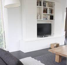 Accessories Small Tv Wall Furniture Stylish Hidden TV Storage