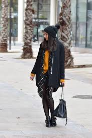 Dare To Wear Mustard Yellow This Winter Federica L Shows How The