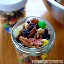 Halloween Candy Dishes by Farm Fresh Feasts Trail Mix With Leftover Halloween Candy For