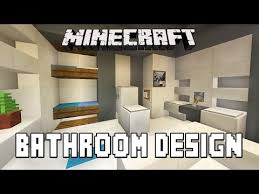 Minecraft Bathroom Ideas Xbox 360 by Minecraft Tutorial Bathroom And Furniture Design Ideas Modern