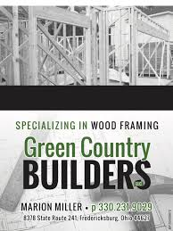 100 Country Builders Green LLC Ohios Amish