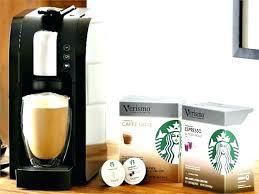 Verismo Coffee Machine Maker Brewer Reviews Starbucks Vs Nespresso